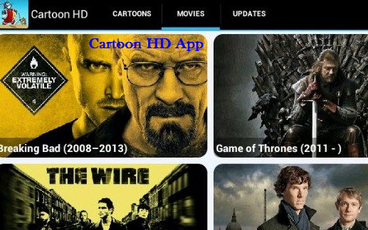 Cartoon HD Application
